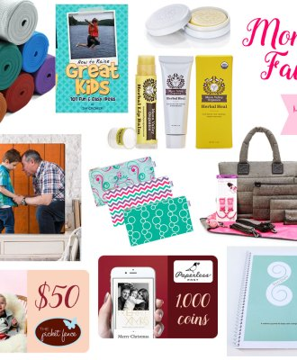 Mom Faves Holiday Giveaway