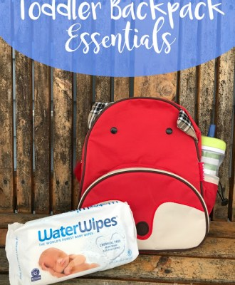 Toddler Backpack Essentials — & WIN a $100 Gift Card!!