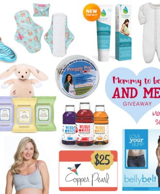 Mommy-To-Be & Me Giveaway!