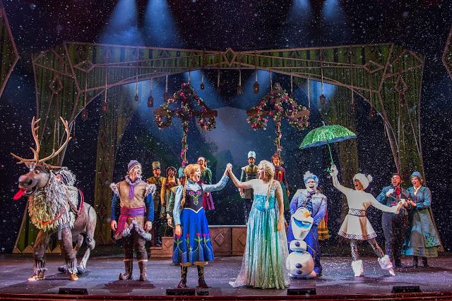 Frozen a Musical Spectacular Disney Wonder