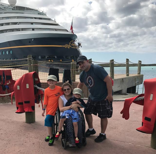 Castaway Cay family photo