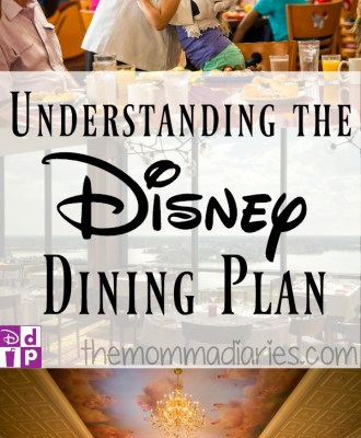 Understanding the Disney Dining Plan