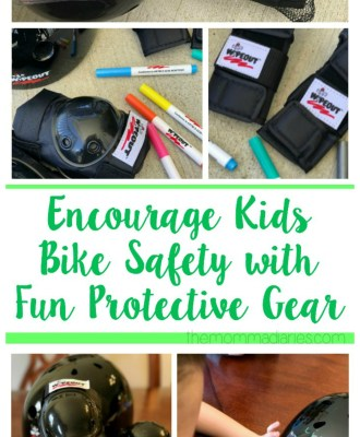 Encourage Kids Bike Safety with Fun Protective Gear
