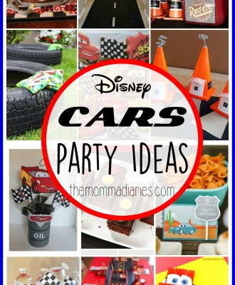 Disney Pixar CARS Party Ideas