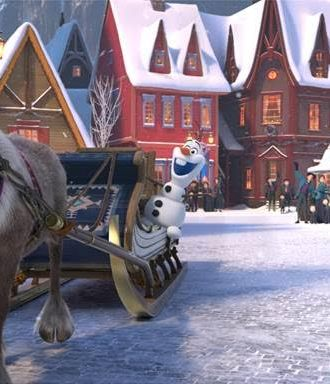 Olaf's Frozen Adventure — First Look!!