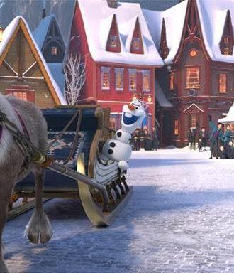 Olaf's Frozen Adventure — First Look!!