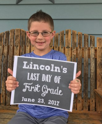 Lincoln's Last Day of First Grade