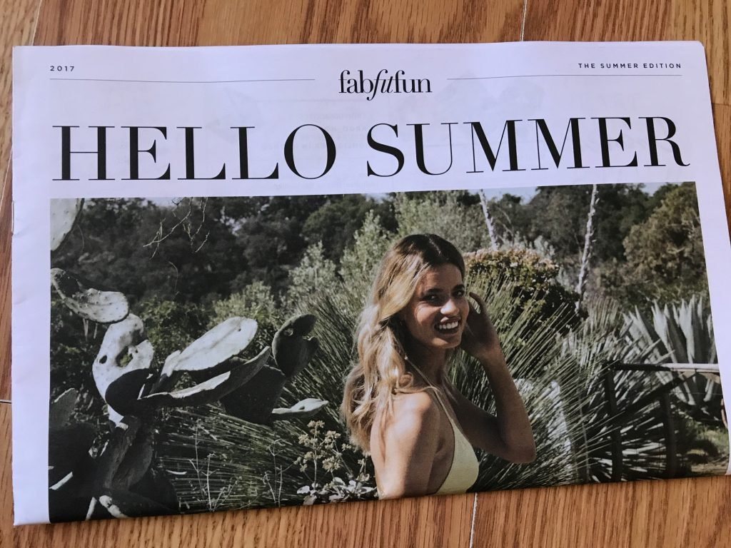 FabFitFun Summer 2017