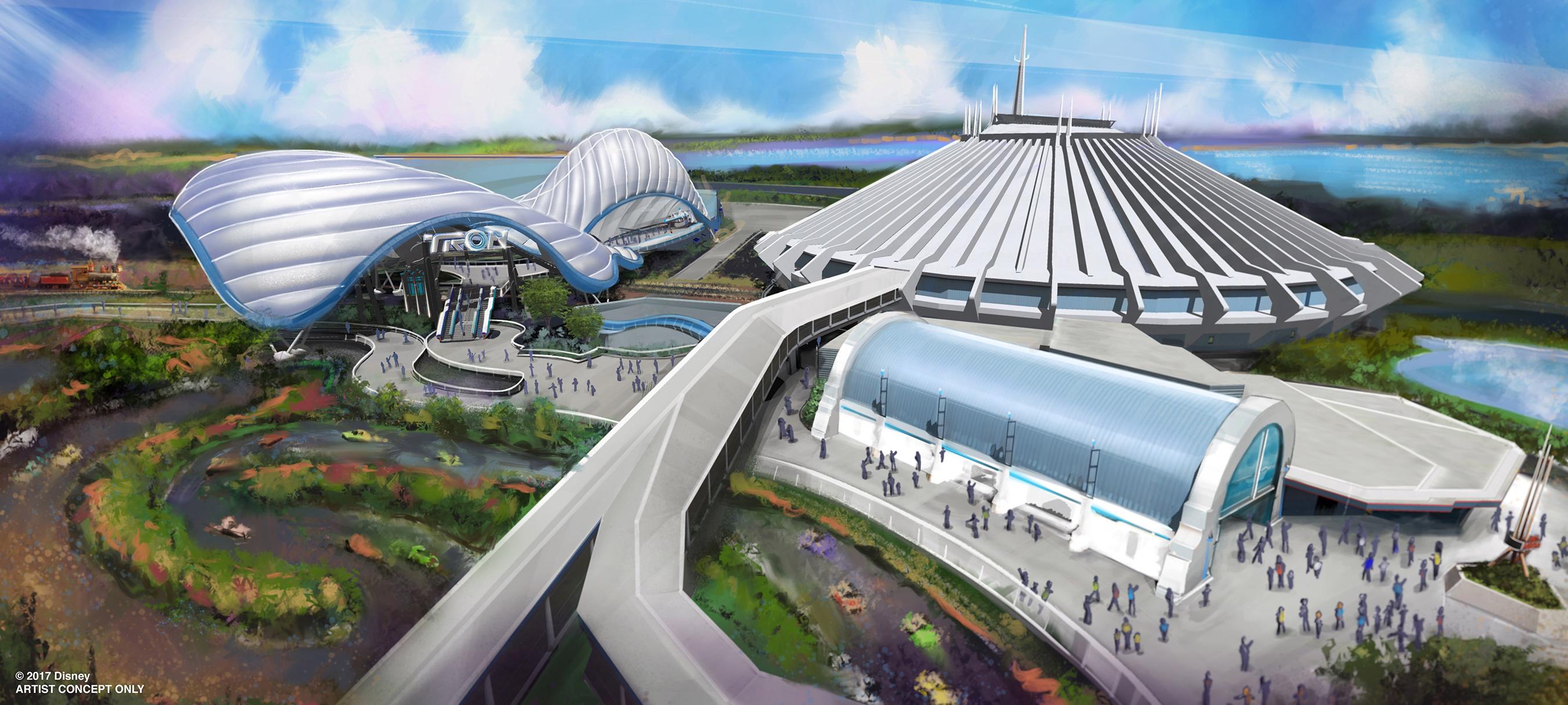 Tron-themed attraction Magic Kingdom