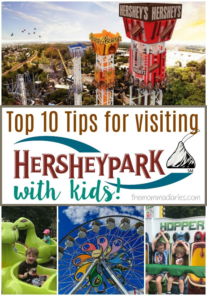 Top 10 Tips for visiting Hersheypark with Kids, Hersheypark tips