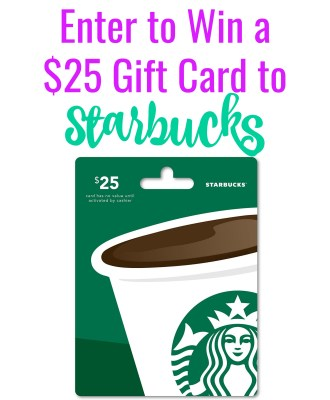 36th Birthday Bash — $25 Starbucks Gift Card Giveaway!!