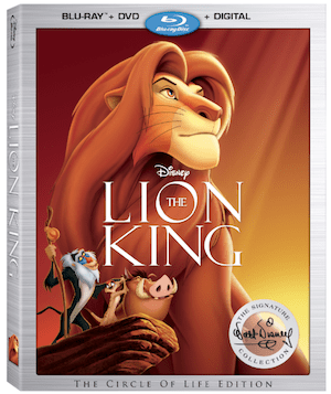 Disney's The Lion King Now Part of the Walt Disney Signature Collection