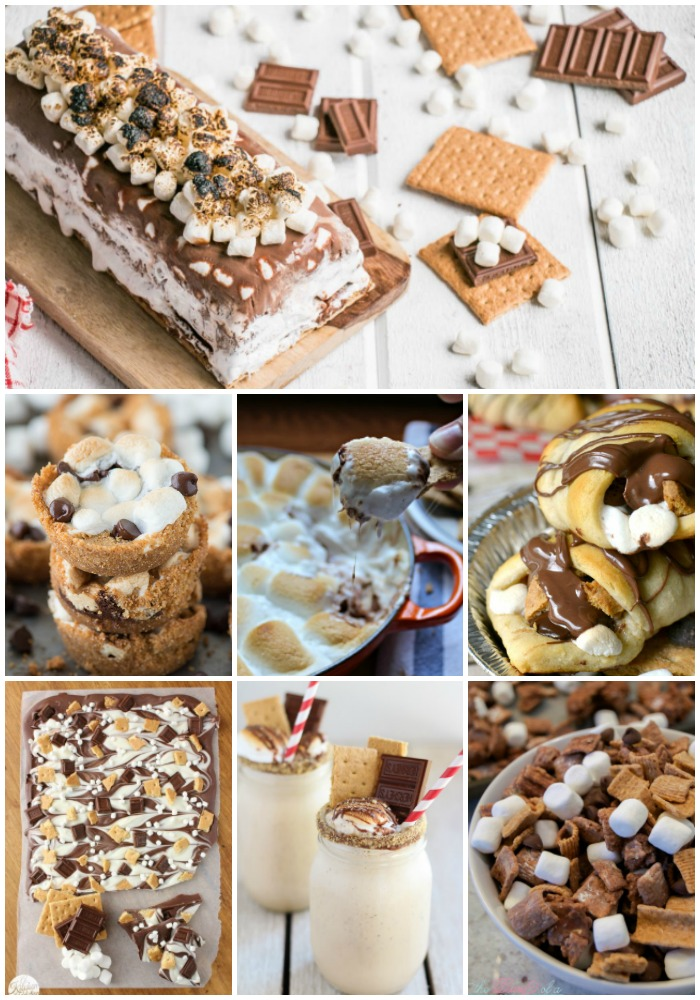 S'mores Recipes, national S'mores Day, S'mores