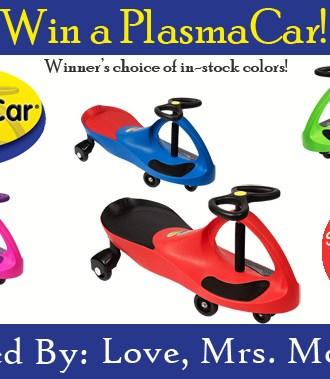 PlasmaCar Giveaway!
