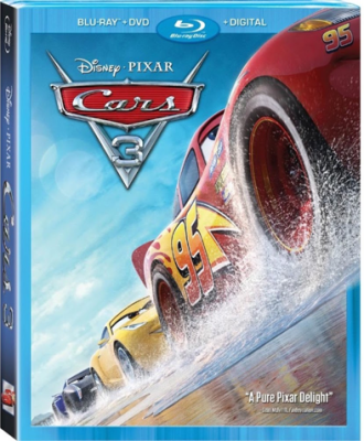 CARS 3 Cruises Home on Blu-ray + DVD!