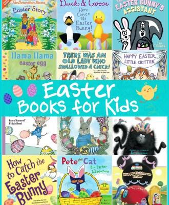 Easter Books for Kids — Preschool Favorites!