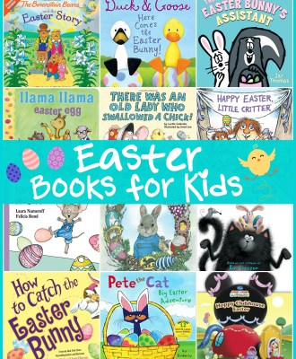 Easter Books for Kids — Preschool Favorites!