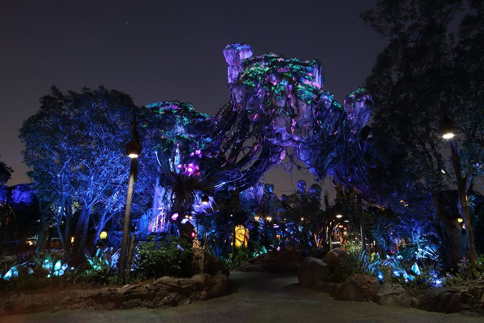 Pandora The World of Avatar, Pandora Floating Mountains, Disney Social Media Moms Celebration, #DisneySMMC