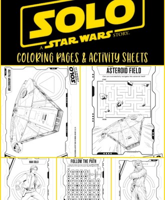 Solo: A Star Wars Story Coloring Pages + Activity Sheets