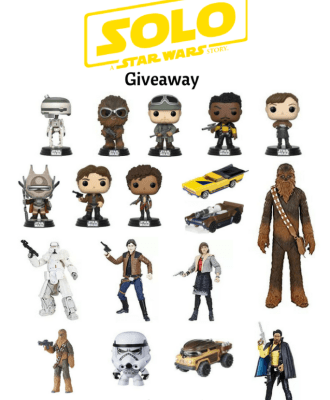Han Solo Star Wars Gift Pack Giveaway