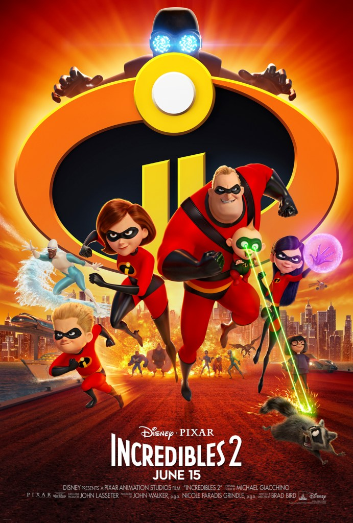 Incredibles 2 Parent Review, INcredibles 2 Poster, #Incredibles2