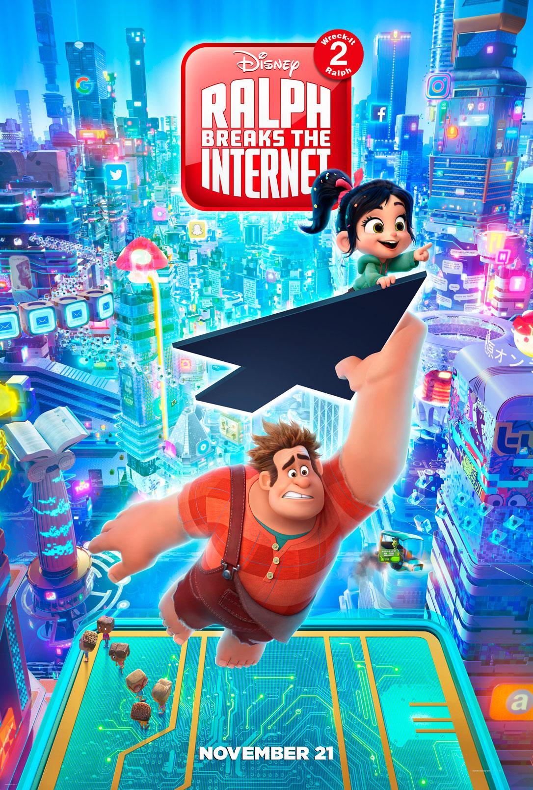Ralph Breaks the Internet Wreck it Ralph 2 Poster