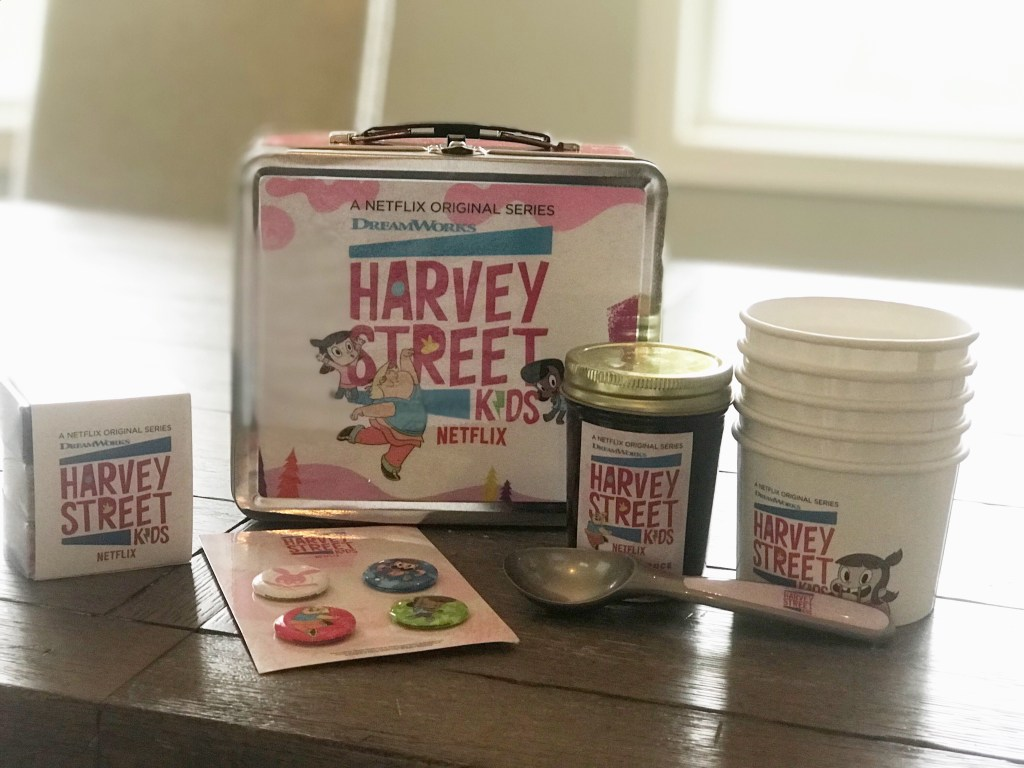 Harvey Street Kids, ice cream sundae kit, #HarveyStreetKids