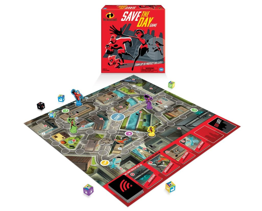 the Incredibles Save the Day Board Game