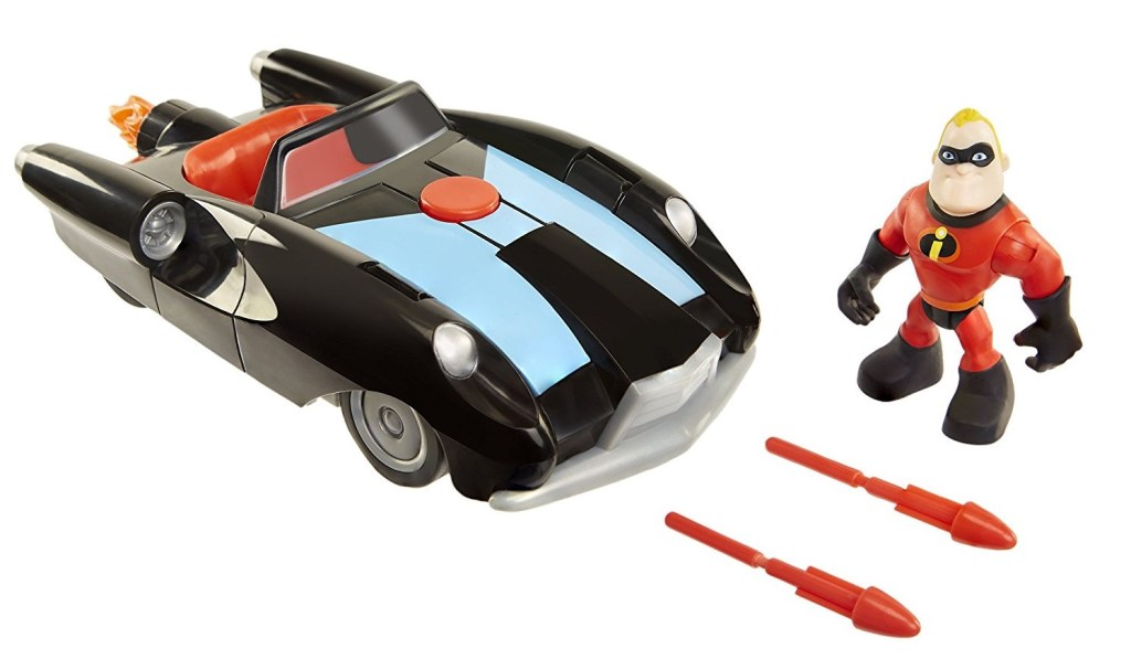 Incredibile Car & Mr. Incredible Action Figure 2-Piece Set