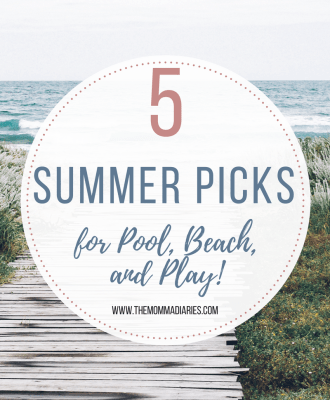 5 Summer Picks for Pool, Beach, and PLAY!