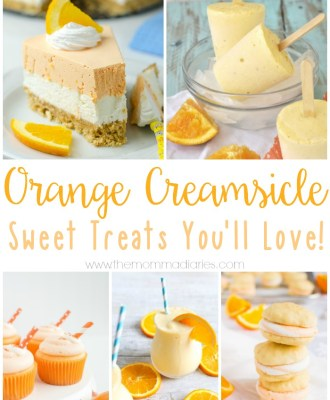 ORANGE CREAMSICLE RECIPES