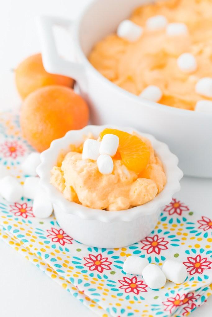 Creamsicle Fluff, Orange Creamsicle Fluff, Creamsicle Recipes