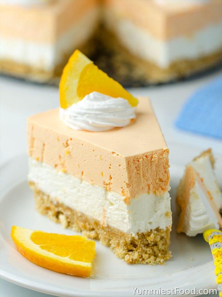 Creamsicle Cheesecake, Orange Creamsicle Cheesecake, No Bake Orange Creamsicle Cheesecake, No Bake Creamsicle Cheesecake, No Bake Cheesecake Recipes, Dreamsicle Cheesecake, Cheesecake Recipes, Creamsicle Recipes