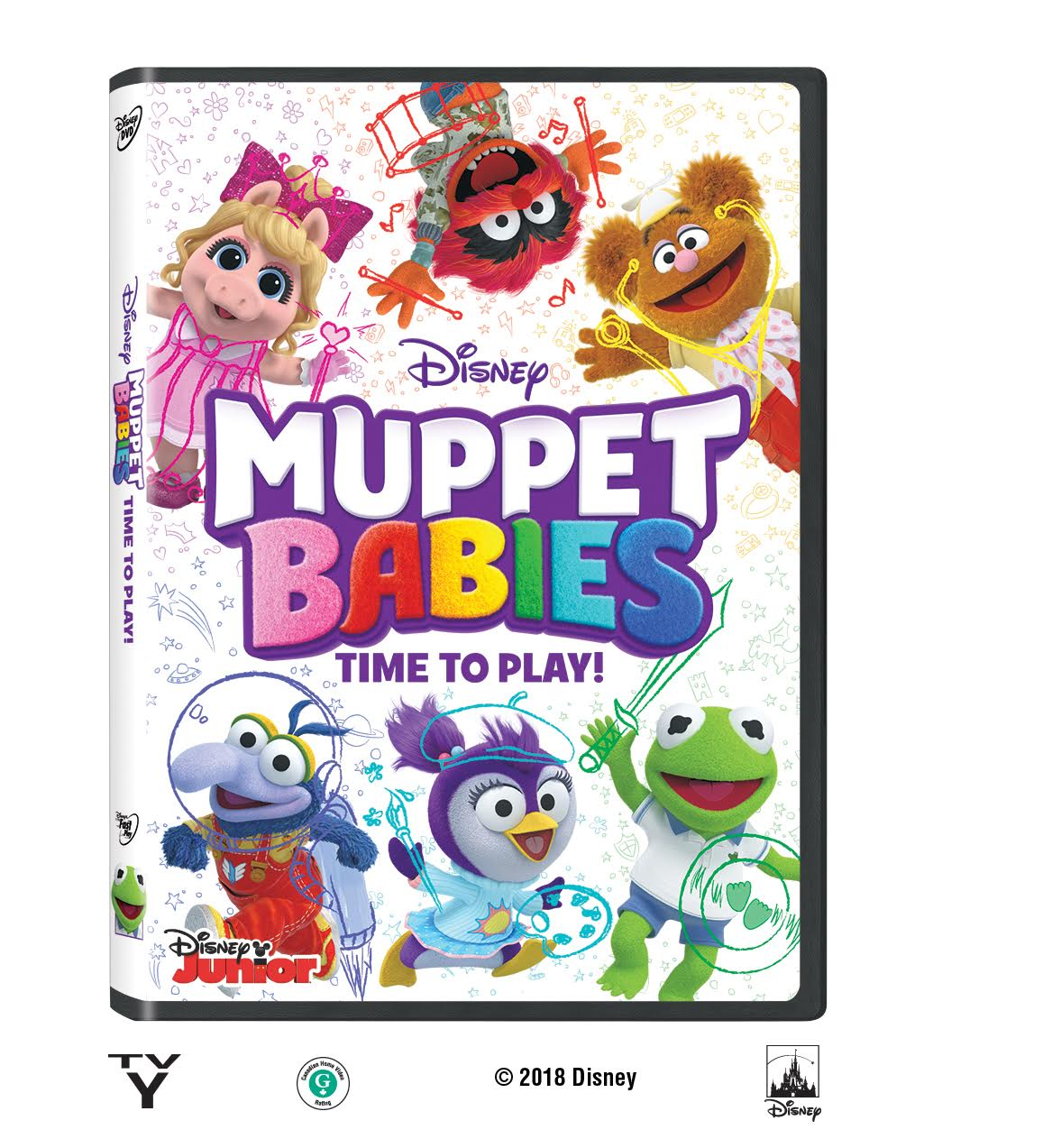 muppet babies time to play dvd