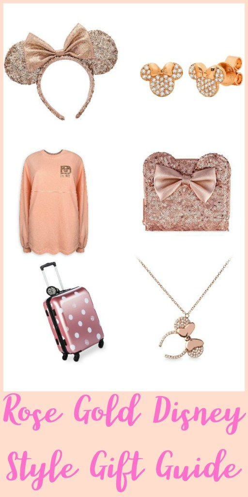 Rose Gold Disney Style Gift Guide, Rose Gold Disney, Rose Gold Disney Style, Disney Rose Gold, #DisneySMMC
