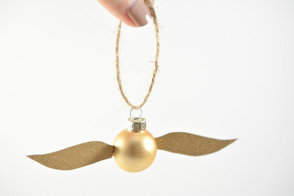 Harry Potter Golden Snitch Ornament
