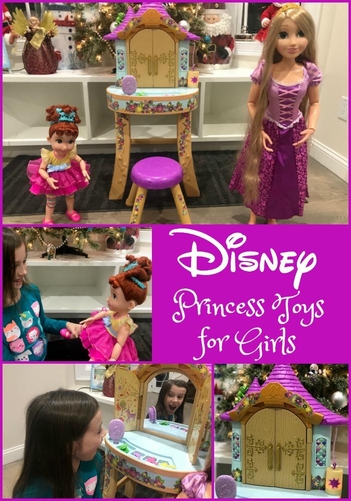 Disney Princess Toys for Girls, Disney girls gifts, disney girls holiday gift guide