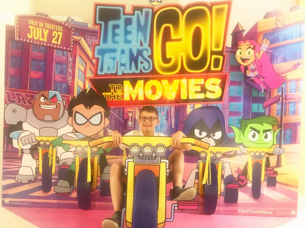 Teen Titans Go! To The Movies DVD