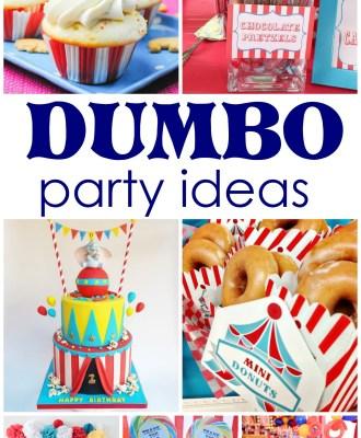 Dumbo Party Ideas + FREE Printable!