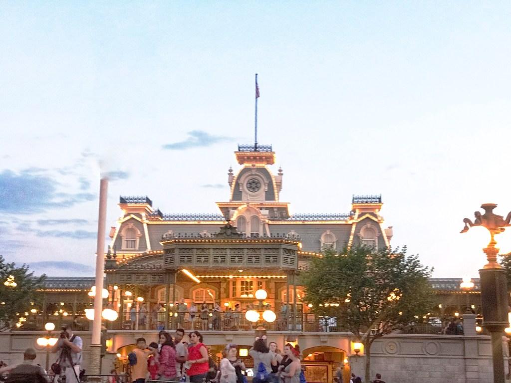 Disney's Magic Kingdom American Flag Retreat