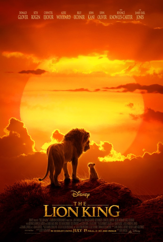 Disney's live action the lion king official trailer and poster #TheLionKing