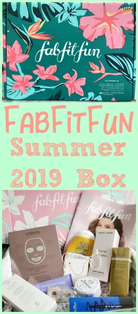 FabFitFun Summer 2019, FabFitFun Promo code, FabFitFun Summer Box, FabFitFun Summer 2019 Box, #FabFitFun #FabFitFunPartner