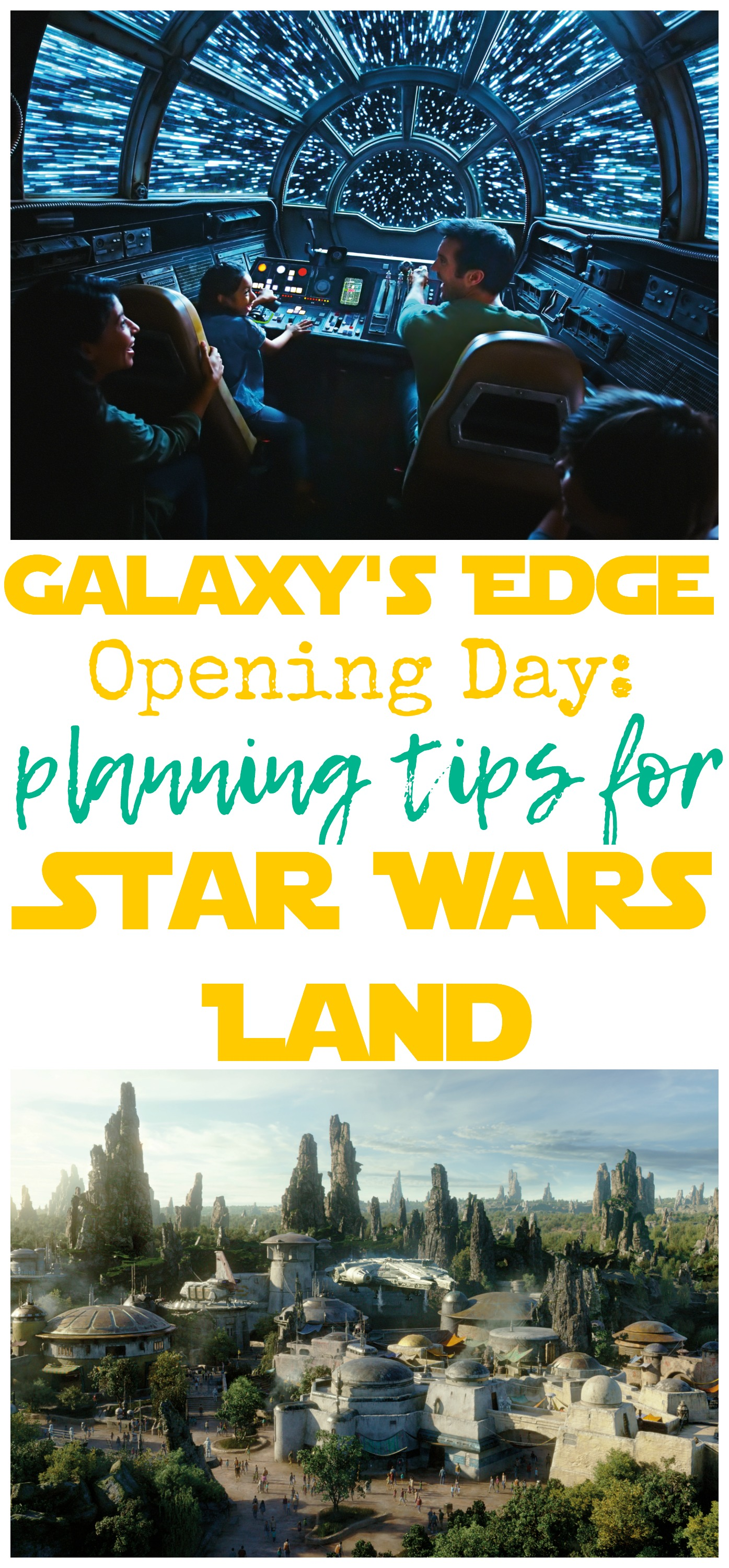 Galaxy's Edge Opening Day, Star Wars Land Opening Day, Planning Tips for Galaxy's Edge, Tips for Star Wars Galaxy's Edge, Galaxy's Edge Tips, #GalaxysEdge #DisneySMC #NowMoreThanEver #DisneyParks #StarWars #StarWarsLand #Disneyland #HollywoodStudios #DisneyFamily