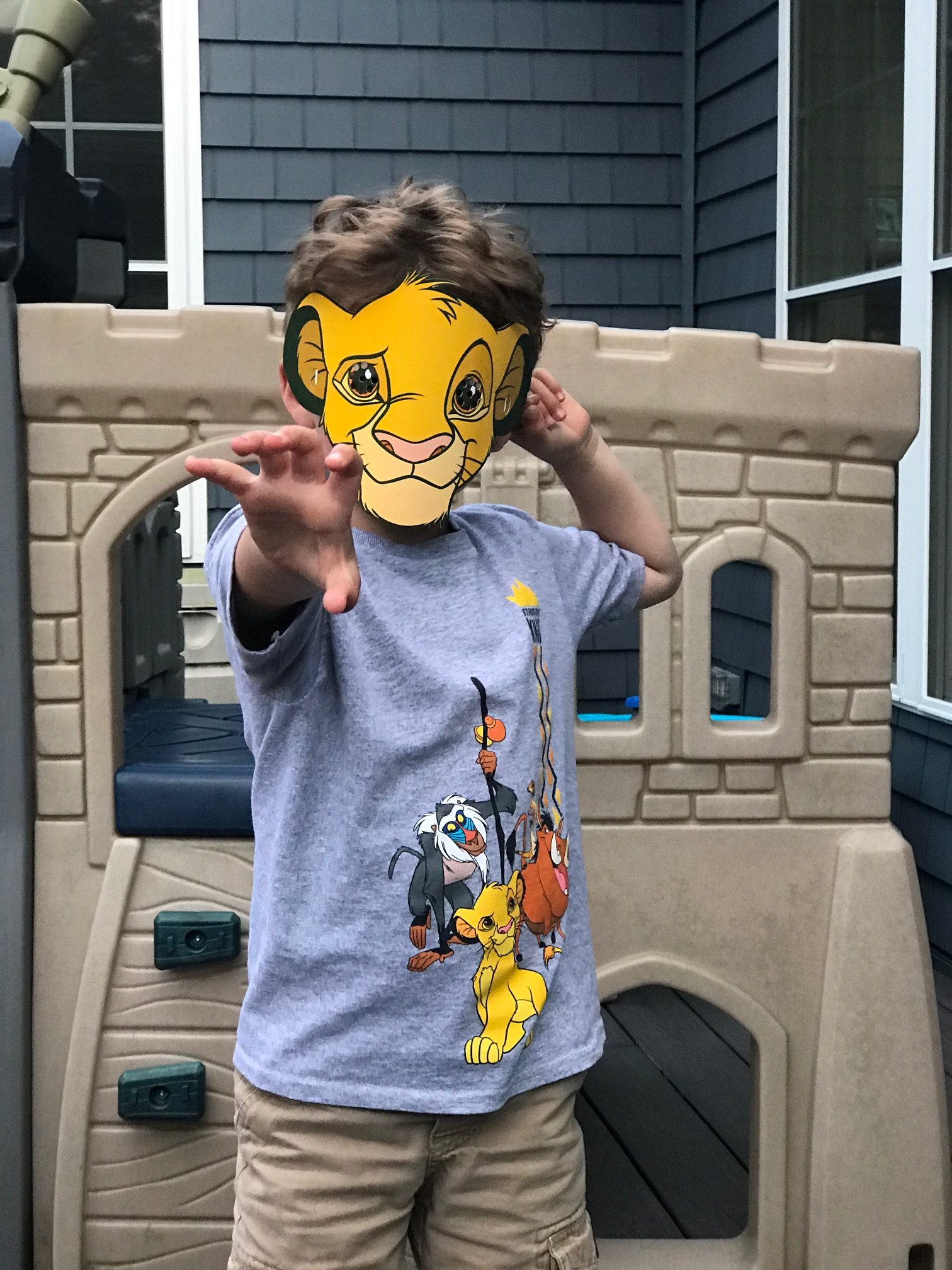 Lion King Simba Mask
