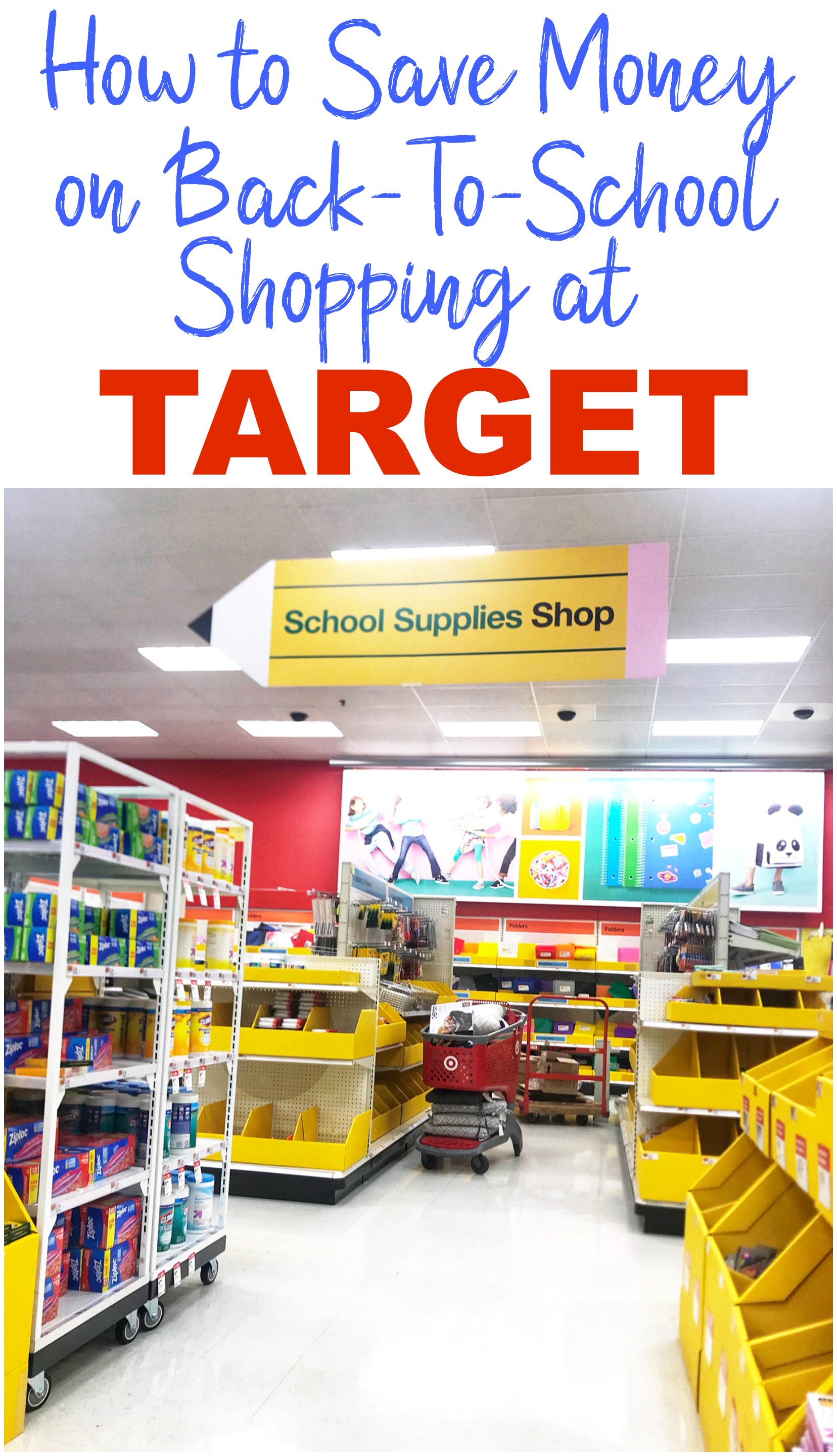 How to save money on back to school shopping at target, back to school shopping savings, back to school deals, back to school clothes shopping, #BTS #backtoschool