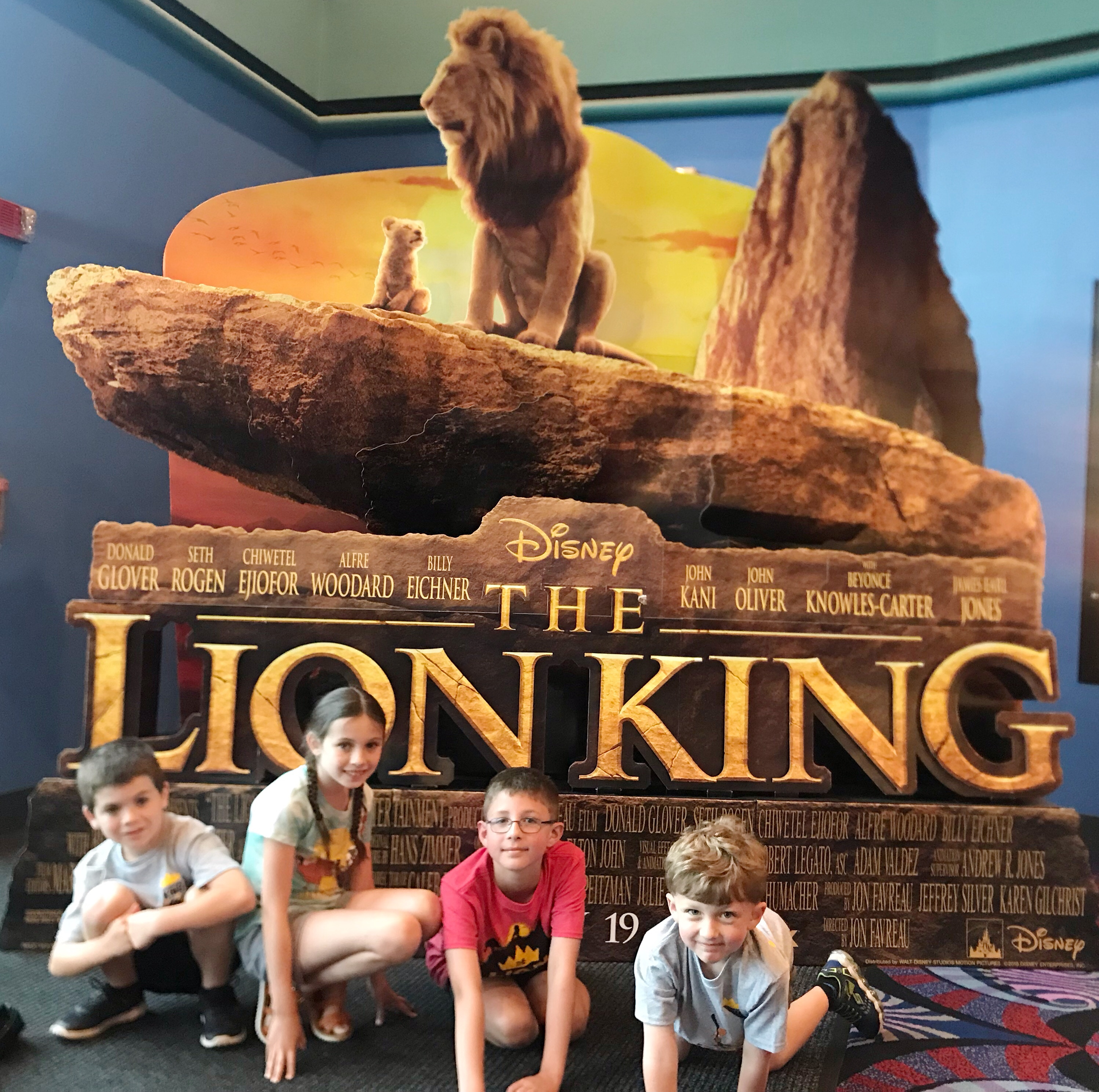 Is the Lion King kid friendly?