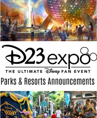 D23 Expo 2019 Disney Parks and Resorts Breaking News