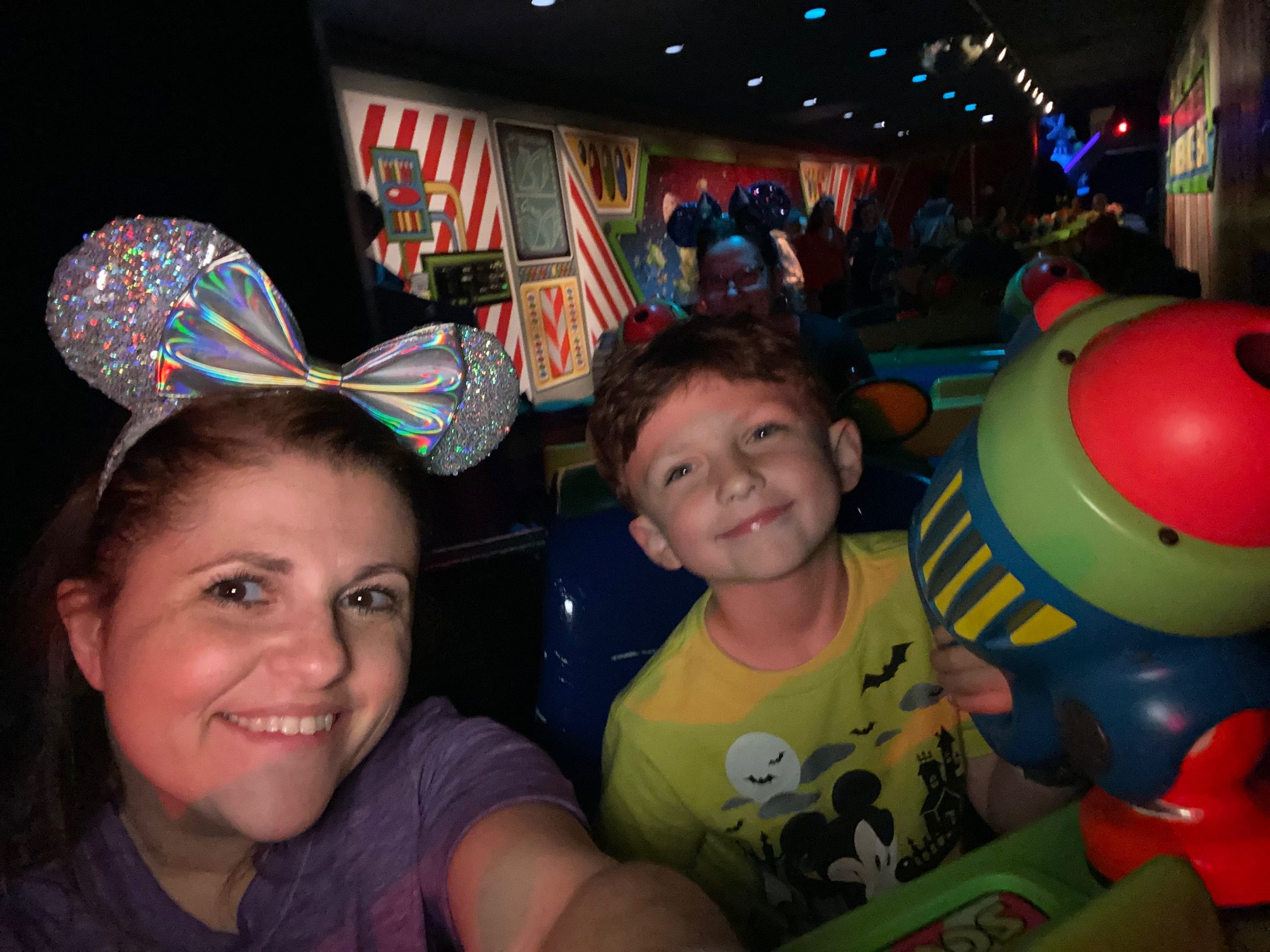 Buzz Lightyear Space Ranger Spin at Magic Kingdom Park