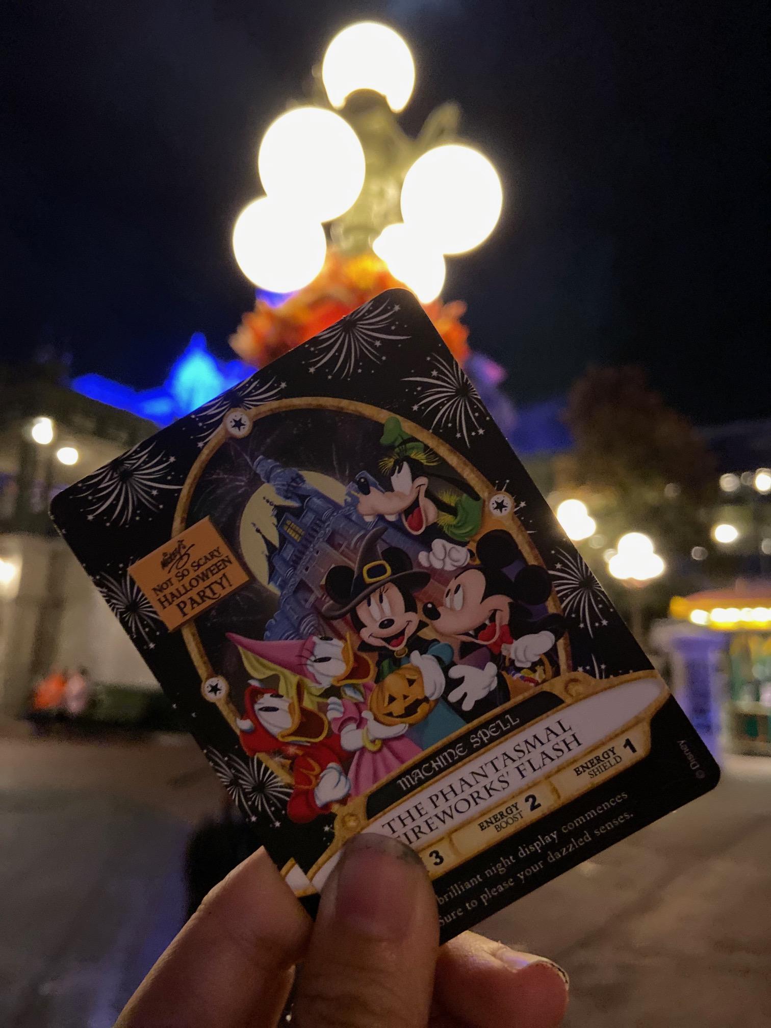 MNSSHP Sorcerers of the Magic Kingdom Card