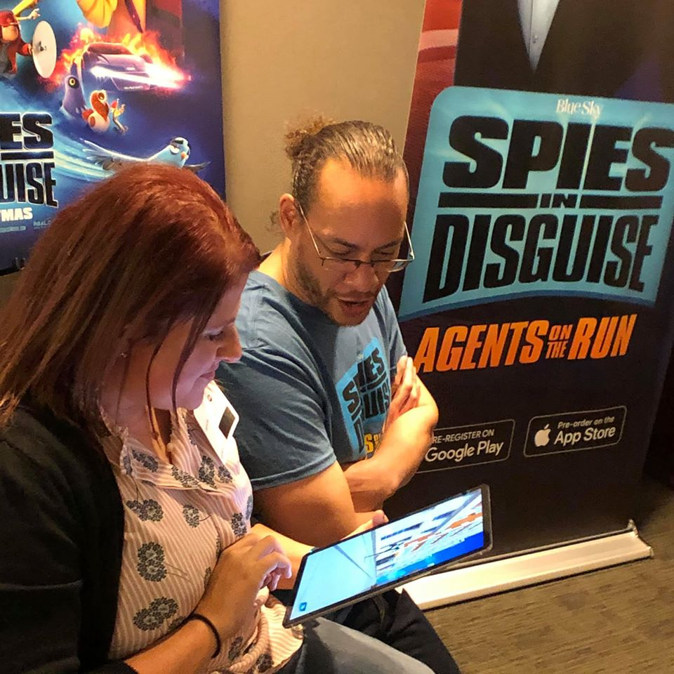 Spies in Disguise Agents on the Run